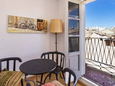 SWOPAL1784 Cosy apartment with magnificent view over the roofs of Palma