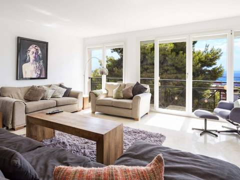 SWOPAL1788 Apartment with loads of daylight and excellent sea views in Bonanova, Mallorca