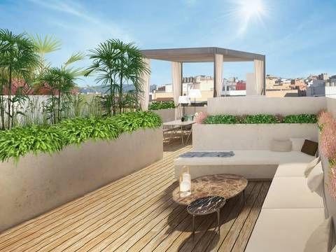 SWOPAL1970 Incredible penthouse apartment in the vibrant centre of Palma