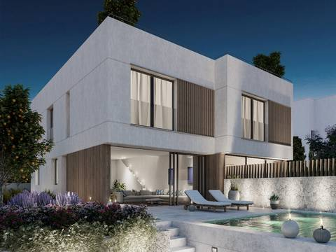 SWOPAL2131 Newly built duplex with sea views just five minutes from Palma