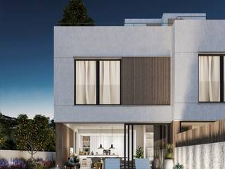 Newly built semi-detached house with sea views just five minutes from Palma