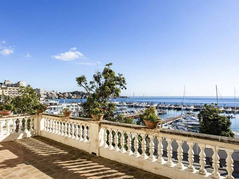 SWOPAL2215 Magnificent house with guest apartment and sea views in Sant Agustí, Palma