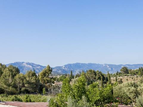 SWOPAL5095 Country home for sale next to Palma with several terraces