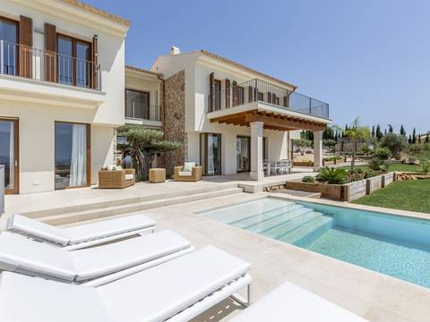 SWOPAL5107B Newly build luxury villa in a prestigious area near Palma