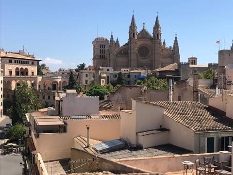 SWOPAL6043 Palatial town house renovated into apartments in central Palma de Mallorca
