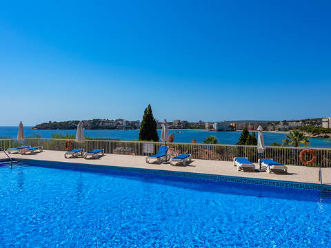 SWOPAN10196 Smart 2 bedroom apartment with community pool in Palmanova