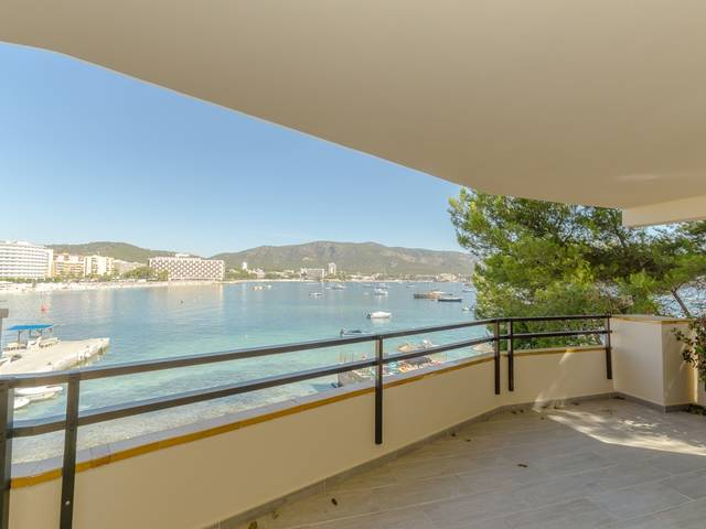 Fantastic apartment in the first sea line in Torrenova