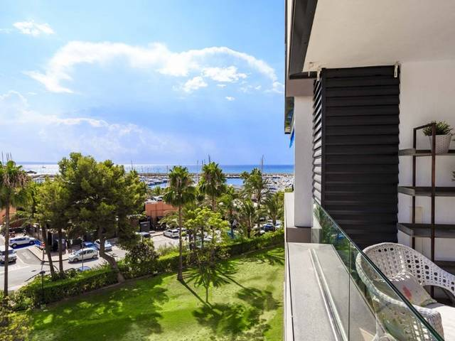 Fantastic apartment with sea views and private terrace in Puerto Portals