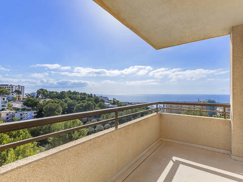 SWOPOR10258 Luxuriously renovated penthouse not far from the beach and the harbour in Portals Nous