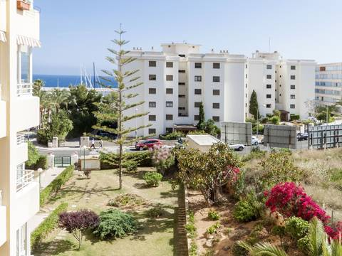 SWOPOR1569 Beautiful apartment for sale in Puerto Portals, with  sea views