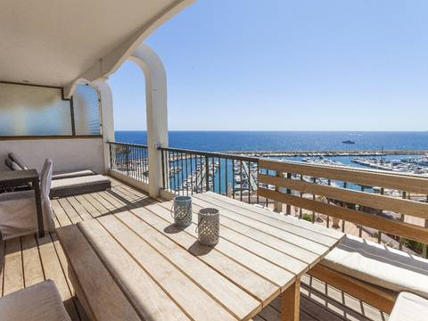 SWOPOR1757 Wonderful apartment in Portals Nous close to port and all facilities with sea views