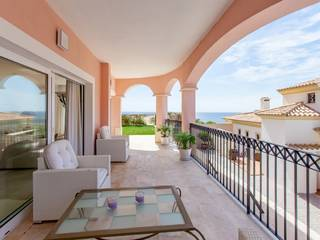 Beautiful apartment in Cala Moragues with views of La Mola and the harbor of Port Andratx