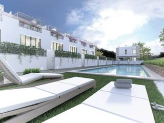 Semi-detached properties of the highest quality in an exclusive area of Puerto Andratx