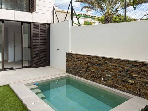 SWOPTA2214 Townhouse with private plunge pool and garage in Puerto Andratx