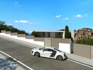 Sea view villa due for completion in 2021 with sea views in Port d'Andratx