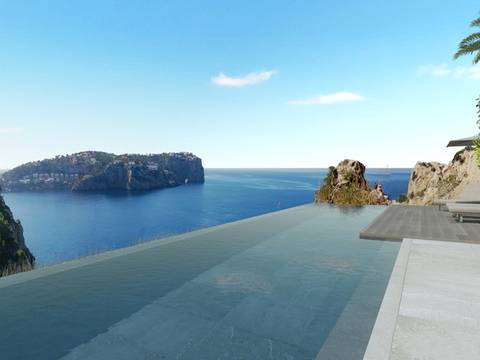 SWOPTA40100 Brand new villa in the exclusive area of Cala Moagues, Puerto Andratx