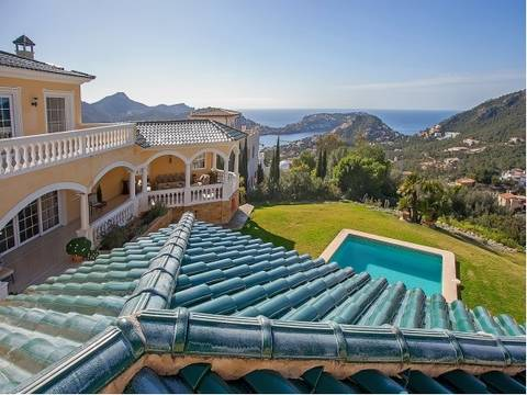 SWOPTA40218 Exceptional luxury villa for sale in Puerto Andratx with sea views