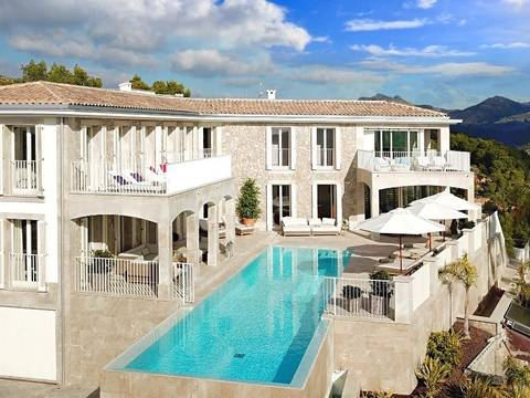 SWOPTA40350EXCL Luxurious mansion with spacious terrace areas and sea views in Puerto Andratx