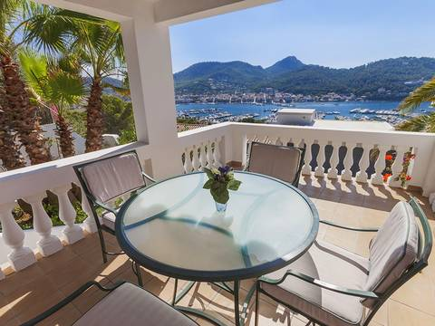 SWOPTA4503 Detached villa with nice sea views in Port Andratx for sale