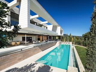 Impressive modern style villa with sea views in Puerto Andratx