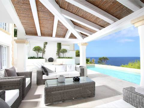 SWOPTA4666 Modern luxury villa with sea views in Port Andratx