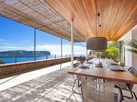SWOPTA4725 Villa built to the highest standards in Cala Moragues, close by Puerto Andratx