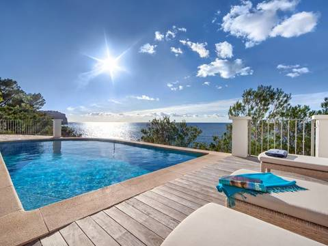SWOPTA4916 Frontline luxury villa with impressive views and access to the sea in Puerto Andratx
