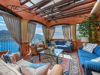 Grand Mediterranean-style villa with stunning views of Puerto Andratx