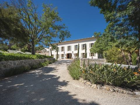 SWOPUG5169 Magnificent estate with luxurious manor house located in a beautiful valley near Puigpunyent