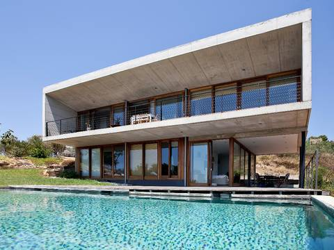 SWOPUN5011 Minimalistic finca with panoramic views, overlooking the bay of Palma in Puntiró