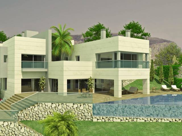 5 BEACHFRONT PLOTS WITH SPECTACULAR SEA VIEWS IN A GREAT LOCATION (1.2 M-2.5 M)