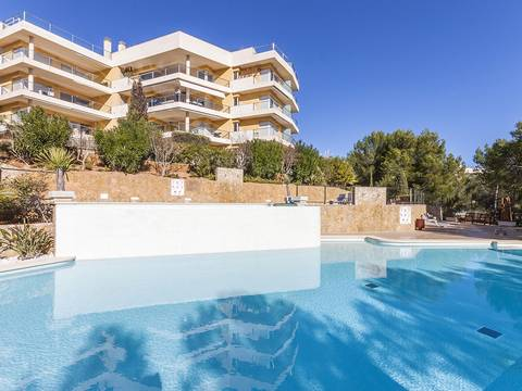 SWOSDM1817 Ground floor apartment with direct access to the beach in the popular area of Sol de Mallorca