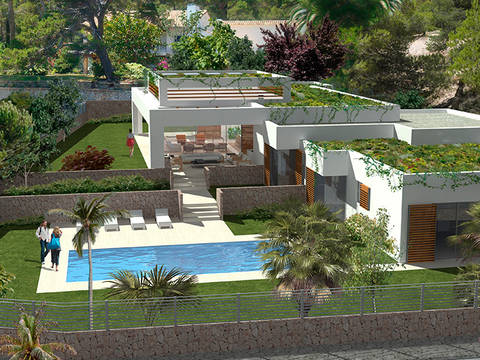 SWOSDM40145-C Luxury villa in exclusive location in Sol de Mallorca, close to golf courses and marinas