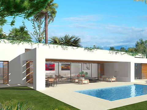 SWOSDM40146-D Luxury villa in exclusive location in Sol de Mallorca, close to golf courses and marinas