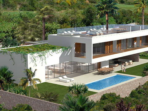 SWOSDM40147-E Luxury villa in exclusive location in Sol de Mallorca, close to golf courses and marinas