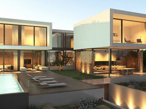 SWOSDM4923 Luxury 4 bedroom villa project with pool in Sol de Mallorca
