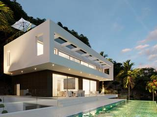 Exclusive villa with sea views, glass lift and magnificent roof terrace in Son Vida