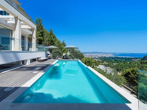 SWOSOV4782 Ultra-modern villa with fantastic sea views in the exclusive neighbourhood Son Vida