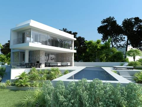 SWOTOR4513 Fantastic villa for sale in Port Adriano completion in 2018