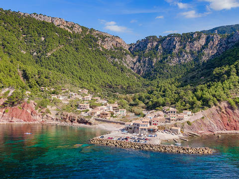 SWOVAL0206 Unbelievable seafront plot with magnificent views in the port of Valldemossa