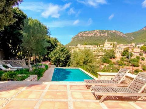 VAL52610 Charming property with incredible views of the Valldemossa valley