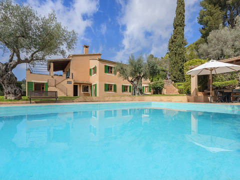 VAL52635 Large country home with private pool and incredible views in Valldemossa